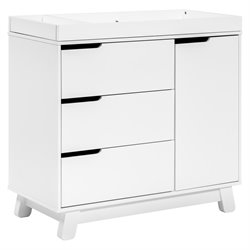 Babyletto Hudson Changer with Removable Changing Tray in White