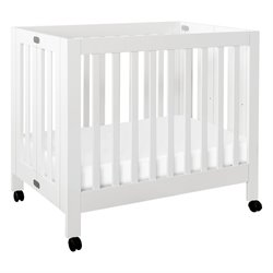 Babyletto Origami Mini Crib in White
