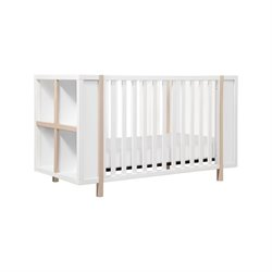 Babyletto Bingo 3-in-1 Convertible Crib and Storage Combo in White