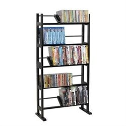 Atlantic Inc Element Media Rack 230 CD or 150 DVD or Blu-Ray or Games