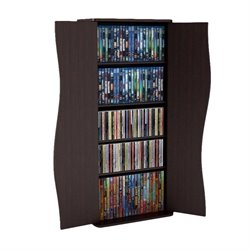 Atlantic Inc Venus Media Storage Cabinet 108 Bluray 88 DVD or 198 CD