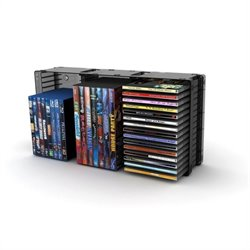 Atlantic Inc Triple Disc Storage Module in Black