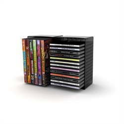 Atlantic Inc Double Disc Storage Module in Black