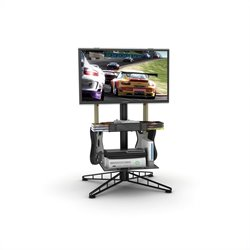 Atlantic Inc Spyder TV Gaming Stand In Black