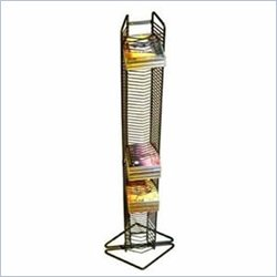 Atlantic Inc 80-CD Tower Matte Black Steel