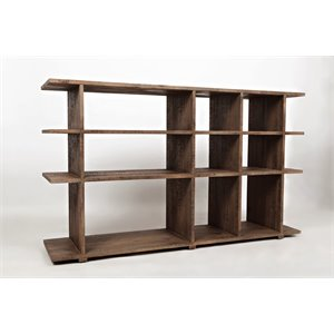 Jofran Conundrum Bookcase in Brown