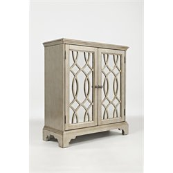 Jofran Casa Bella Accent Chest in Vintage Silver