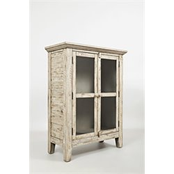 Jofran Rustic Shores Accent Chest in Vintage Cream