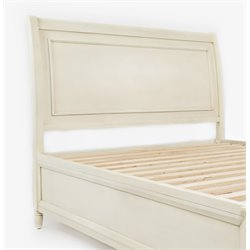 Jofran Avignon Youth Panel Headboard in Ivory