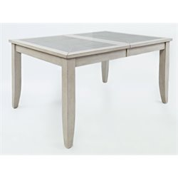 Jofran Sarasota Springs Extendable Dining Table in Gray