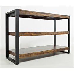 Jofran Loftworks Console Table in Warm Brown