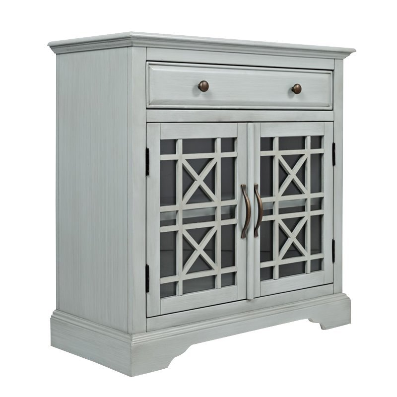 Jofran Craftsman Accent Cabinet In Earl Gray