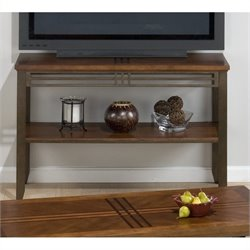 Jofran 536 Series Sofa Table / TV Stand in Barrington Cherry Finish
