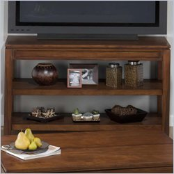 Jofran Sofa Table TV Stand in Bowie Birch