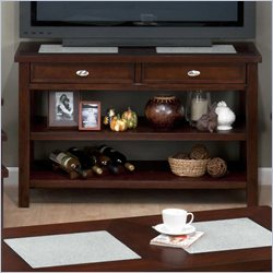 Jofran Sofa Table TV Stand in Chadwick Espresso