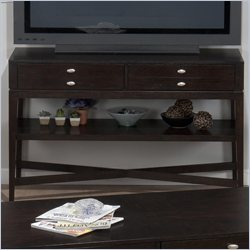 Jofran Sofa Table TV Stand in Granby Espresso
