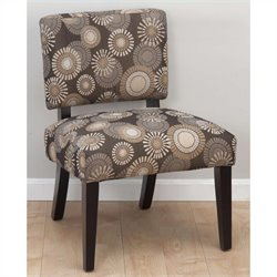 Jofran Bella Accent Chair in Blast