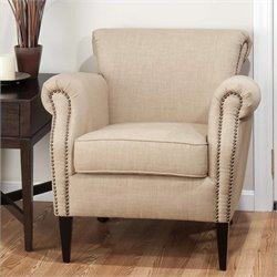 Jofran Emma Club Chair in Wheat