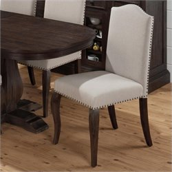 Jofran Upholstered  Dining Chair in Grand Terrace (set of 2)