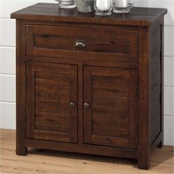 Jofran Accent Cabinet in Urban Lodge Brown