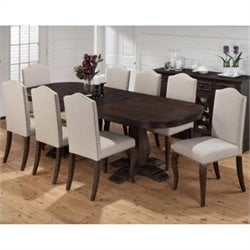 Jofran 634 Series 9 Piece Dining Set in Grand Terrace