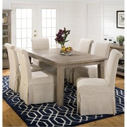 Jofran 941 Series 3-Piece Dining Table Set in Slater Mill Pine