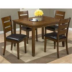 Jofran Plantation 5 Piece Dining Set in Mango
