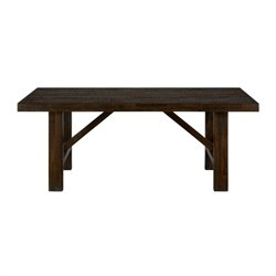 Jofran Kona Grove Dining Table in Deep Chocolate