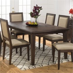 Jofran Geneva Hills Wood Rectangular Dining Table