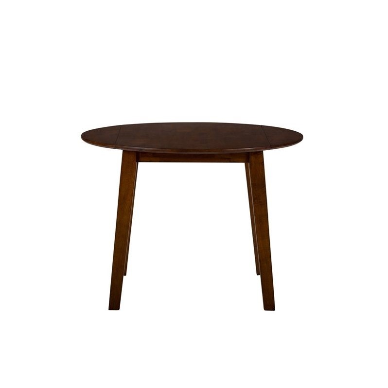Jofran Simplicity Wood Round Dropleaf Dining Table in  : 526657 2 L from www.cymax.com size 798 x 798 jpeg 24kB