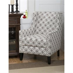 Jofran Blake Accent Chair in Smoke