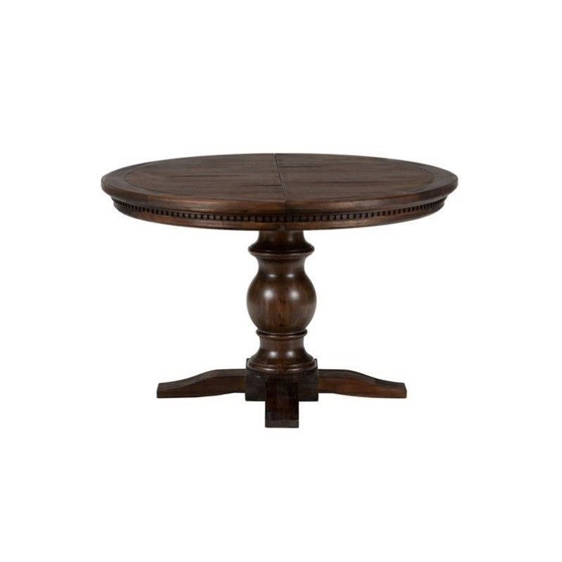 Jofran Geneva Hills Round to Oval Pedestal Dining Table in  : 526843 L from www.cymax.com size 798 x 798 jpeg 31kB