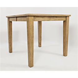 Jofran Turners Landing Extendable Counter Height Dining Table in Brown