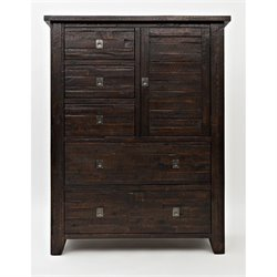 Jofran Kona Grove 5 Drawer Chest in Chocolate