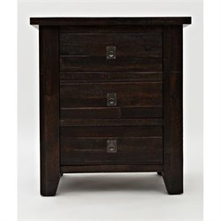 Jofran Kona Grove Nightstand in Chocolate