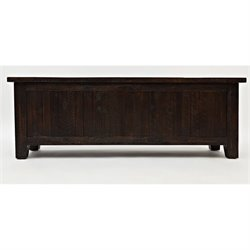 Jofran Kona Grove Blanket Chest in Chocolate