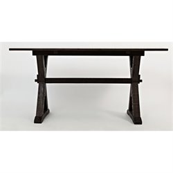 Jofran Pacific Heights Drop Leaf Accent Table in Chestnut