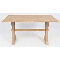 Jofran Pacific Heights Drop Leaf Accent Table in Bisque