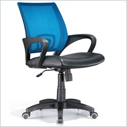 Lumisource Officer Office Chair in Blue