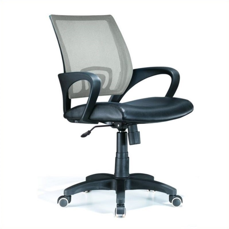 Officer Office Chair in Silver