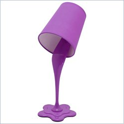 Lumisource Woopsy Lamp in Purple