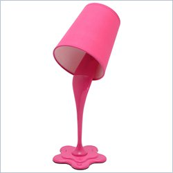 Lumisource Woopsy Lamp in Hot Pink