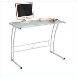Lumisource Sigma Computer Workstation in White
