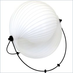 Lumisource Shell Table Lamp in White