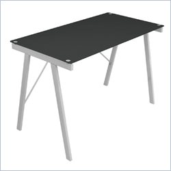 Lumisource Exponent Office Desk in Black