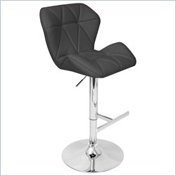 Lumisource Jubilee Bar Stool in Black