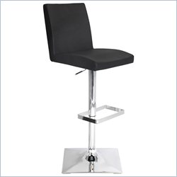 Lumisource Captain Bar Stool in Black
