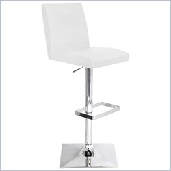 Lumisource Captain Bar Stool in White