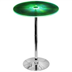 Lumisource Spyra Bar Table in Multicolor