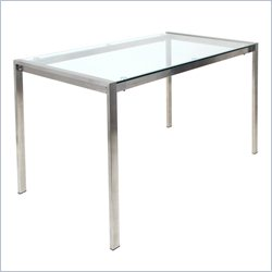 Lumisource Fuji Table in Silver